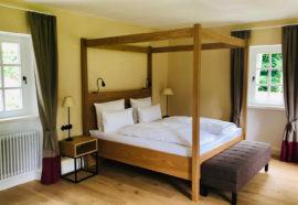 Ferienhaus Odenwald Schlafzimmer