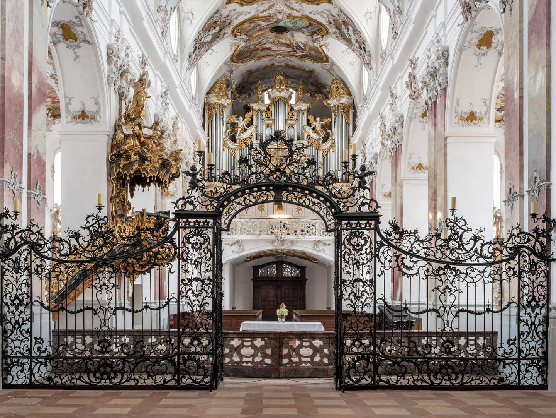 Abteikirche Sehenswürdigkeit Amorbach