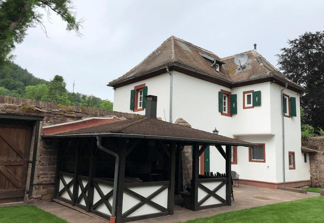 Außenansicht Fischerhaus Odenwald