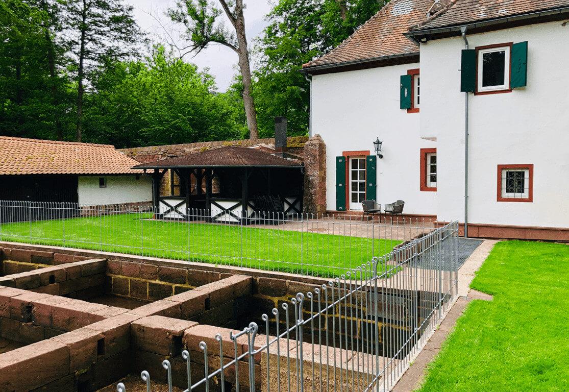 Fischerhaus Odenwald Außenbereich