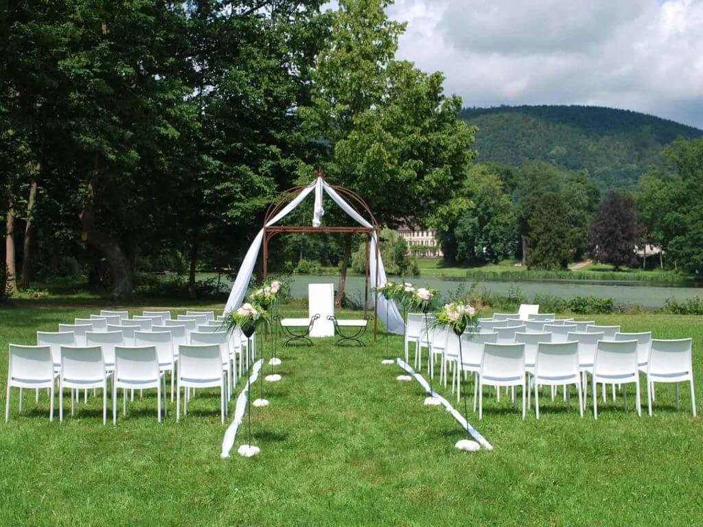 Heiraten im Odenwald im Seegarten