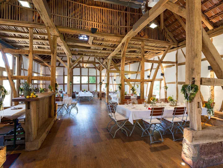 Jagdgut unserer Hochzeitslocation im Odenwald