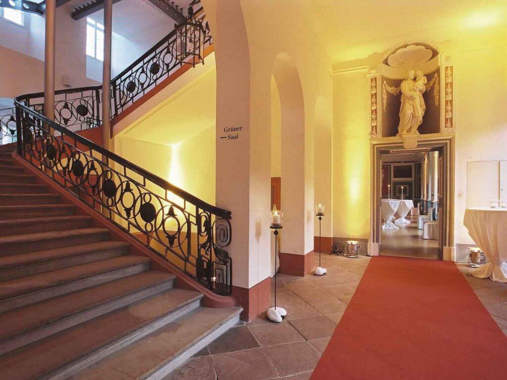 Wandelgang Hochzeitslocation im Rhein Main Gebiet